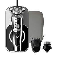 Philips 飛利浦 9000 系列 SP9863/14 精品 電動剃須刀 無線充電 Qi +潔面刷 + 胡須造型器 (法國/意大利版)