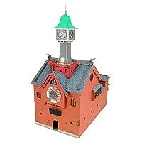 sankei 儿童迷你模型 吉卜力工作室系列 千与千寻 钟楼 1/150比例 纸制手工艺 MK07-27