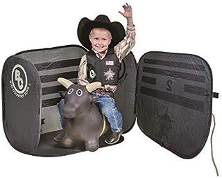 Big Country Toys Lil Bucker & PBR Chute Combo - 儿童跳跃玩具 - 公牛骑行玩具 - Rodeo Toys - PBR 弹跳公牛 - PBR Bucking Chute