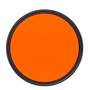 Heliopan 703704 37毫米 深黄色 过滤器(黄色)706205 Orange (22) 62MM 橙色