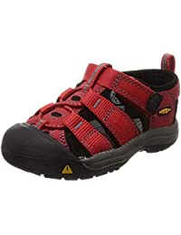 KEEN Newport H2 Sandal (Toddler/Little Kid/Big Kid),Ribbon Red/Gargoyle,8 M US Toddler
