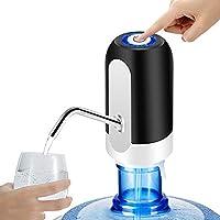 PUDHOMS 5加仑饮水器 - USB 充电水泵,适用于5加仑瓶,通用水瓶泵,便携式电动水罐分配器,饮用水分配器,5加仑,适用于2、3、5加仑