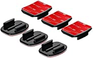 GO PRO 弧形和顯示器膠 mounts