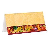 节日火鸡感恩节餐盘,8只装 多种颜色 16 Ct. 26391