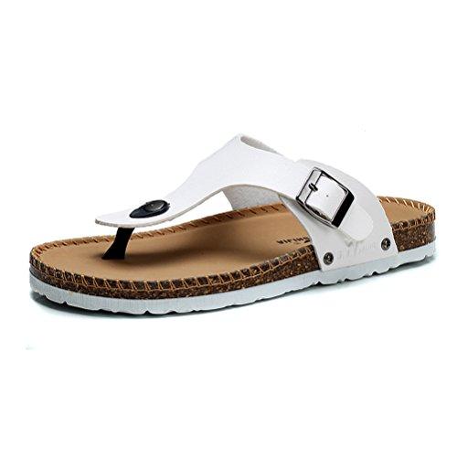 GNSJ 公牛世家 2015夏季男士拖鞋 防滑厚底软木拖 韩版潮流防滑夹脚休闲沙滩凉鞋