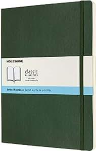 Moleskine 纸板及笔记本 Punktraster Xlarge Myrtengrün