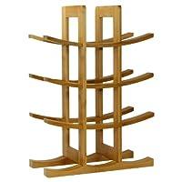 12-Bottle Bamboo Wine Rack 天然