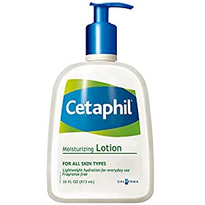 Cetaphil 丝塔芙 保湿润肤乳473ml(加拿大或法国原装进口,两种产地随机发货)(进)