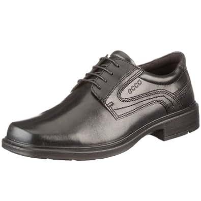 ECCO 男式 helsinki 平头正装牛津鞋 黑色 39 EU (US Men's 5-5.5 M)