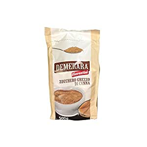 Fiorentini 福伦蒂尼 咖啡调糖 Demerara Sugar Cane 500g(意大利进口)