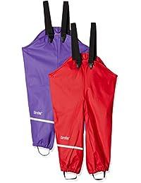 caretec 女孩防雨长裤, wind- 和防水