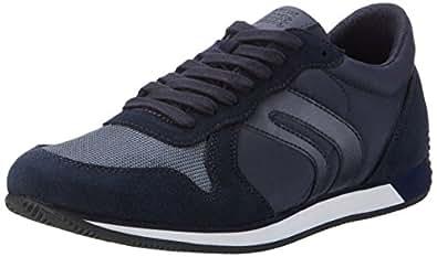 Geox Men's U Vinto C Low-Top Sneakers Blue (Navyc4002) 39 UK