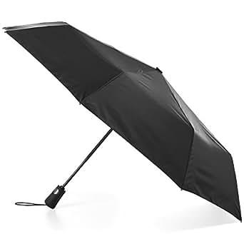 Totes Totes Neverwet Auto Open Close Umbrella 黑色 均码