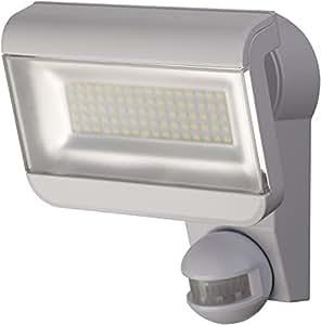 Brennenstuhl LED 射灯 Premium City/LED 灯 适用于室外和室内 带运动探测器 (IP44,40 W,6000 K)颜色:白色