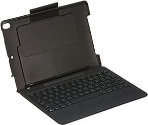 Logicool 罗技10.5英寸iPad Pro用Slim Combo背光键盘 黑 iK1092BKA 搭载Smart Connector技术