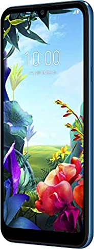 LG K40s 智能手机(15.46厘米(6.09英寸)IPS LC显示屏,32 GB内置内存,2 GB RAM,MIL-STD-810G,安卓9.0)LMX430EMW.ADECBL  Moroccan Blue 摩洛