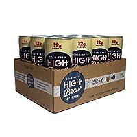 High Brew Cold Brew Coffee 奶油卡布奇諾加蛋白質 每罐227.2毫升(12罐)