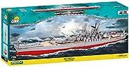 COBI COBI-4814 大和号战列舰 拼插模型,灰/红色