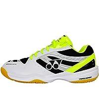 尤尼克斯 YONEX 男女同款羽毛球鞋 运动鞋 100CR 白黄色 北京康仕顿体育配送