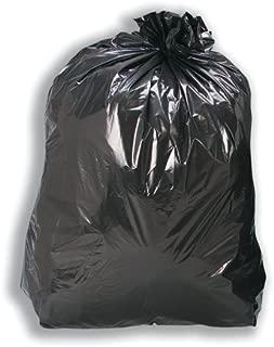 5 星 110 升 100 号中号垃圾袋,200 个装,黑色