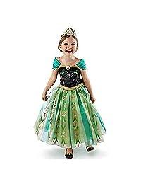 DaHeng 女孩公主绿安娜花式礼服服装