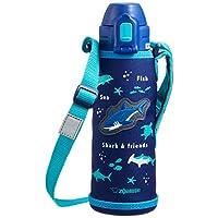 ZOJIRUSHI 象印 水瓶 吸管款 不锈钢保温杯 520毫升 蓝色 SD-CB50-AA