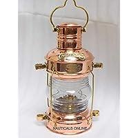 铜黄铜油灯仿古航海油灯复古油灯船灯海洋灯