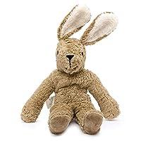 Senger Stuffed Animals - Bunny - Handmade 100% Organic Toy (White/Beige - 12 Inches Tall)