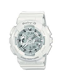 Casio 卡西欧 Baby-G 女士腕表 BA-110-7A3ER 白色