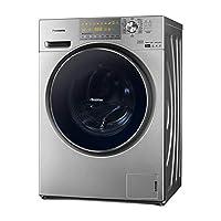 Panasonic 松下 滚筒洗衣机XQG90-EG935 9公斤除螨带烘干变频 深银色(亚马逊自营商品, 由供应商配送)
