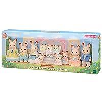 Sylvanian Families 森贝儿家族 巧克力兔家庭庆祝活动套装