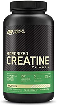 Optimum Nutrition - Micronized肌酸粉末Creapure没有味道 - 300克
