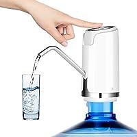 水瓶泵 5 加仑,WXCCK USB 充电通用水壶分配器,便携式自动电动饮水喷泉,适用于室外和室内