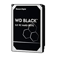 Western Digital Black 500GB 高性能臺式機硬盤驅動器-7200 RPM SATA 6 Gb / s 64MB緩存3.5英寸-WD5003AZEX