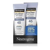 Neutrogena 露得清 清透乳 Spf 45 3盎司(88ml)2包装