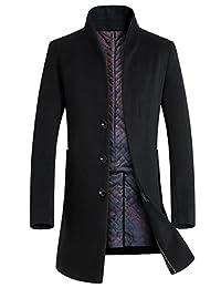 Mr.baidis 秋冬装男士羊毛呢大衣中长呢子大衣呢大衣风衣毛呢外套男1681