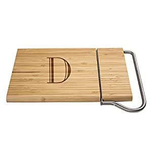 Cathy's Concepts Personalized Bamboo Cheese Slicer Board 天然