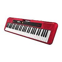 Casio 卡西欧 键盘 CT-S200RD 耳机/线立体声迷你接口,自动伴奏,音量同步 EQ,变音,红色