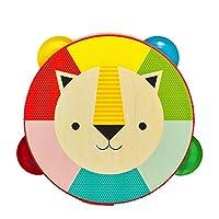 Petit Collage 幼儿木制狮子玩具铃,适合 18 个月以上儿童