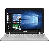 华硕旗舰 360 翻盖 2 合 1 15.6 英寸 FHD 触摸屏笔记本电脑 - Intel Core i5-7200U 高达 3.1 GHz、12GB DDR4、1TB HDD、802.11ac、蓝牙、网络摄像头、HDMI、USB 3.0、Windows 10 Home