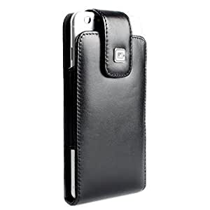 CASE123 MPS Mk II 真皮旋转皮带扣皮套适用于苹果 iPhone 6 Plus(5.5 英寸屏幕)CA-A301-CLASSIC_UR-BK-IP6P_SL MPS Classic SL Urban