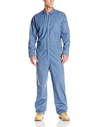 Red Kap 男式超大长袖斜纹后背连衣裤 Postman 蓝色 Long 48