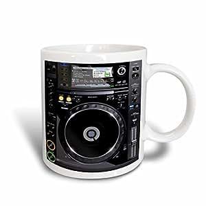 3dRose mug_167167_2 Stereo and Speaker Art Look a Likes Ceramic Mug, 15-Ounce