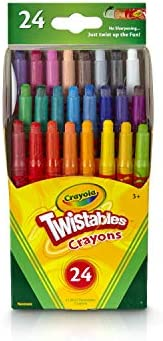 Crayola 绘儿乐 迷你可拧转蜡笔,24支装