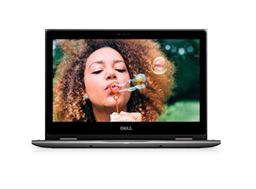 戴尔 Inspiron 13 5378 33.8 厘米(13.3 英寸 FHD)可转换笔记本电脑(英特尔酷睿 i3-7130U,256 GB 固态硬盘,英特尔高清显卡 620,触摸屏,Win 10 家庭版 64 位德国版)黑色 灰色