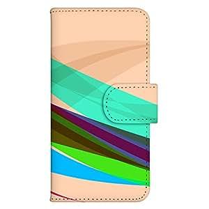智能手机壳 手册式 对应全部机型 印刷手册 wn-603top 套 手册 流线效果 UV印刷 壳WN-PR061447-MX AQUOS Xx2 502SH B款