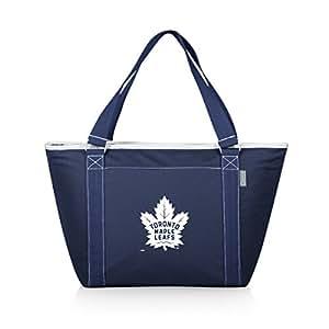 PICNIC TIME NHL 多伦多枫叶 Topanga 隔热冷藏手提包,*蓝