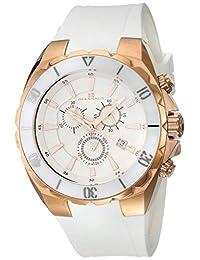 "Oceanaut 男式""Seville""石英不锈钢和陶瓷休闲手表,颜色:白色(型号:OC5123)"