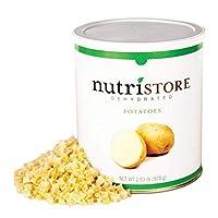 Nutristore 脱水马铃薯 25年保质期 美味 *零食 紧急和生存食物