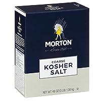 Morton Coarse Kosher 盐 深蓝色 3lbs ASINPRILAK56031